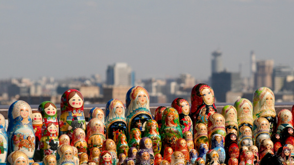 Moscow by Eugene Osminkin