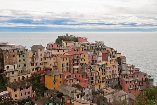 Cinque Terra, Italy by Eugene Osminkin