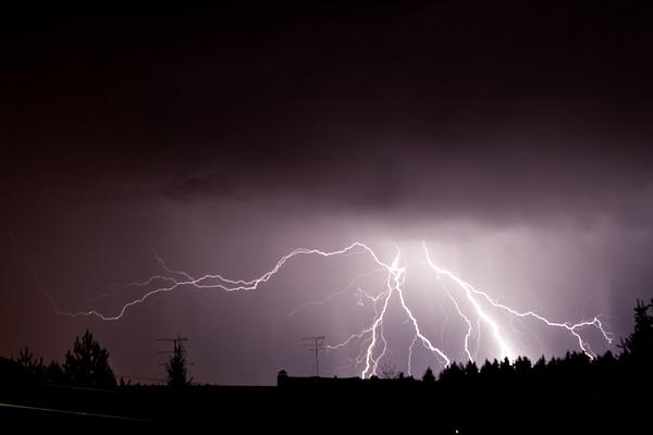 Lightning by Eugene Osminkin