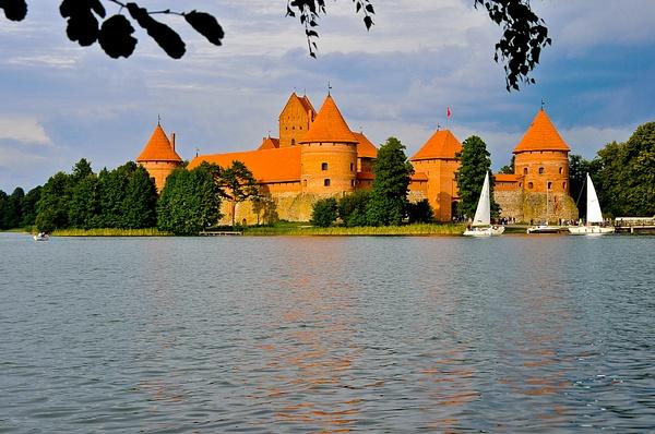 Trakai, Lithuania by Eugene Osminkin