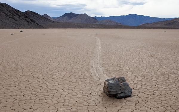 Racetrack, Death Valley, USA by Eugene Osminkin