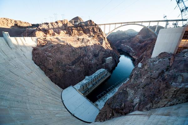Hoover Dam, USA by Eugene Osminkin