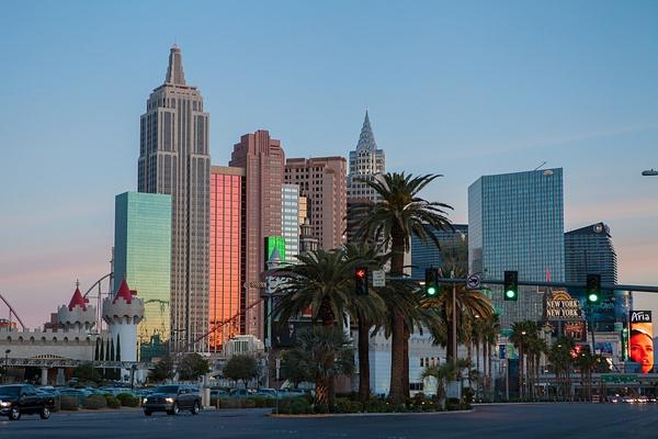 Las Vegas, USA by Eugene Osminkin