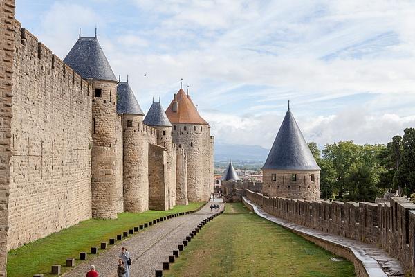 Carcassonne 2014, France by Eugene Osminkin
