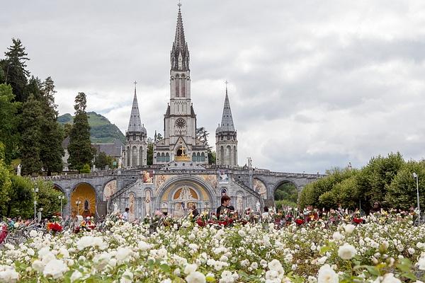 Lourdes, France by Eugene Osminkin