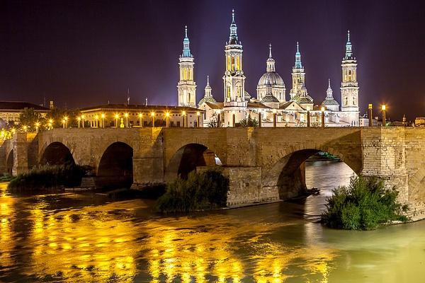 Zaragoza, Spain by Eugene Osminkin