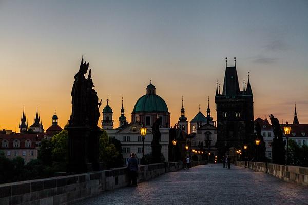 Prague, Czech by Eugene Osminkin