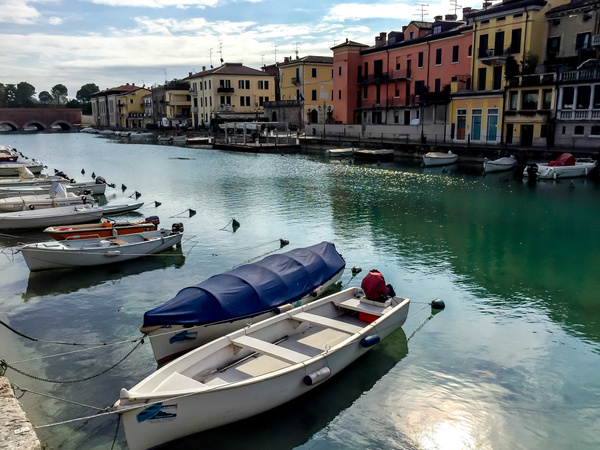 Garda Lake, Italy by Eugene Osminkin