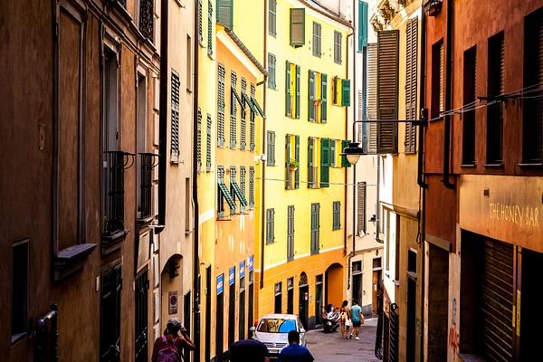 Genova, Italy by Eugene Osminkin