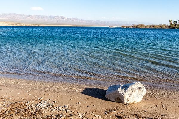 Mohave Lake, USA by Eugene Osminkin