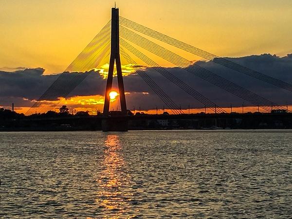 Riga, Latvia by Eugene Osminkin