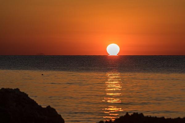 Tyrrhenian Sea, Sicily, Italy by Eugene Osminkin