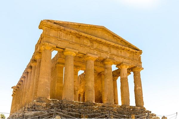 Agrigento, Sicily, Italy by Eugene Osminkin