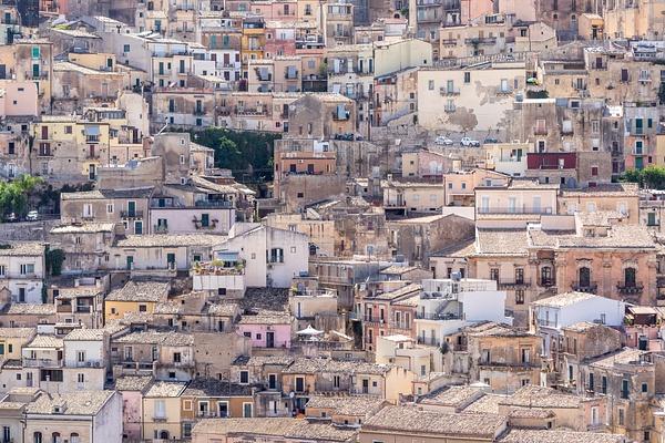 Ragusa, Sicily, Italy by Eugene Osminkin