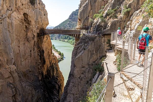 Caminito del Rey, Spain by Eugene Osminkin