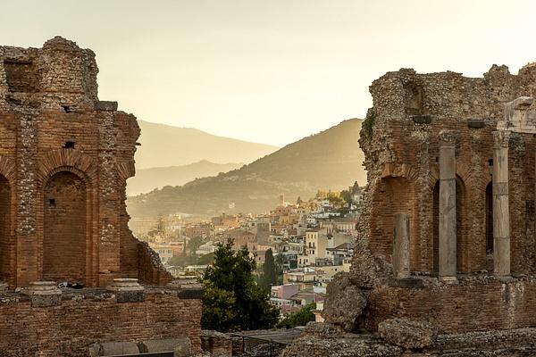 Taormina, Sicily, Italy by Eugene Osminkin