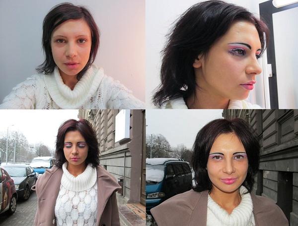 podium make-up by tander