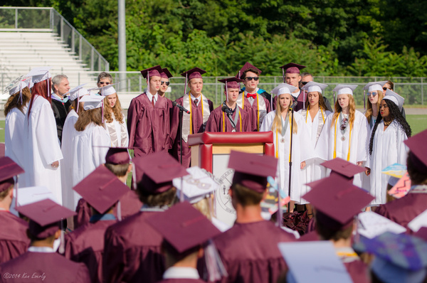 Class Of 2014 Graduation Ceremony by Ken Everly
