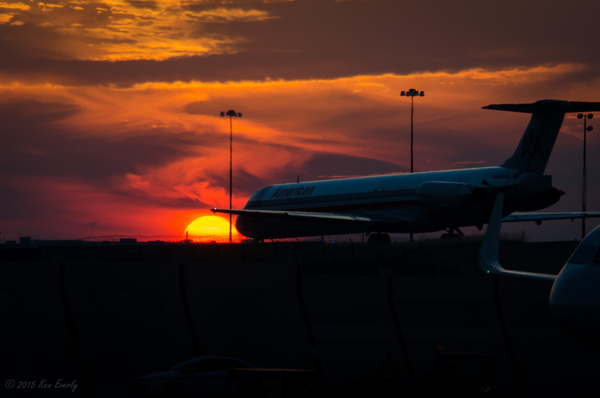 2015-06-07 042 DFW Sunset med by Ken Everly