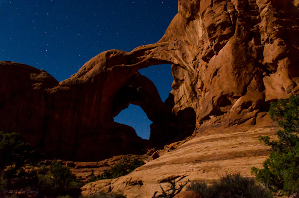 2015-09-24 056 Moonlight Arches med by Ken Everly