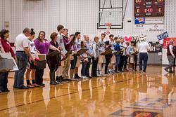 2016-02-04 Owen Basketball Senior Night