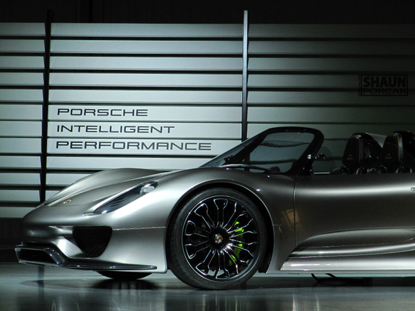 Porsche 918 Spyder N/A Launch by eshaun