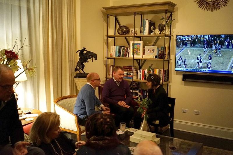 New Year Party at Laren & John's - 038