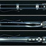 Mick Strider - Jeremy Horton Recurve Chisel-ground Titanium-bladed Tanto SMF Collab