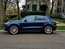 2015 Porsche Dark Blue Macan Turbo