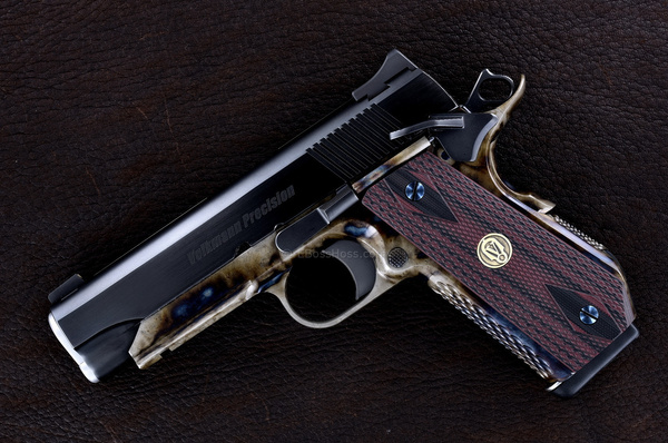 Luke Volkman Custom Combat 1911 - 9mm by EBossHoss