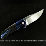 EBossHoss at the 2016 Blade Show in Atlanta