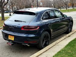 2015 Macan Turbo Winter Wheels & Tires w/TMPSs