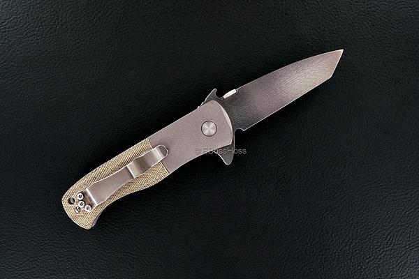 EBH-028 Emerson Custom CQC-7 Flipper by EBossHoss