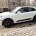 2017 Porsche White Macan GTS