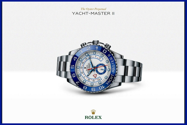Rolex Yacht-Master II Stainless Steel - 116680 by...