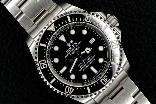 ROLEX Stainless DEEPSEA SEA-DWELLER - 116660 by EBossHoss