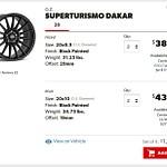 Porsche Macan OZ Superturismo Dakar Matte Black Painted Wheels