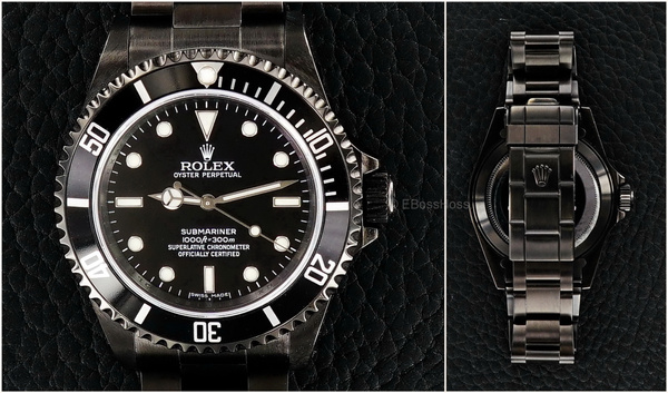 ROLEX Submariner 14060M - PVD Black by EBossHoss