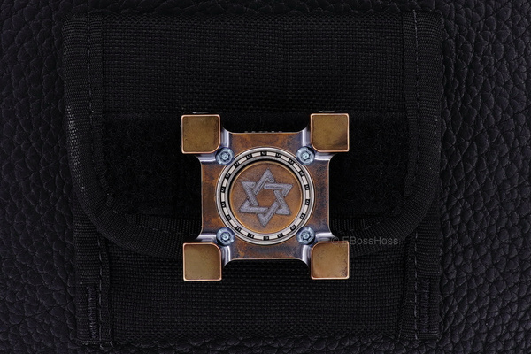 Steel Flame Ring Spin - Dreidel - Fidget Spinner by...