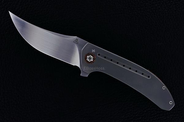 Walter Randolph (WR Bladeworks) Custom Persian Flipper by EBossHoss