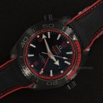 Omega Planet Ocean Deep Black Ceramic