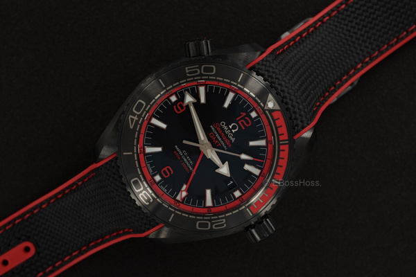Omega Planet Ocean Deep Black Ceramic by EBossHoss