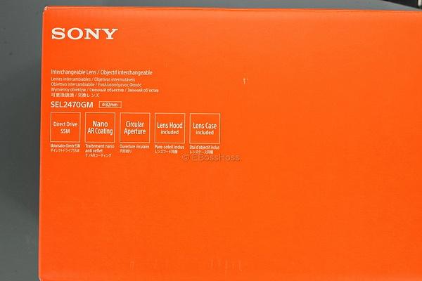 Sony G-Master FE 24-70 2.8 GM E-mount Full-Frame by EBossHoss