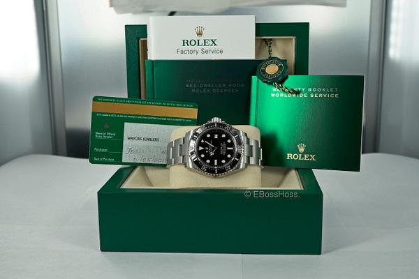 Rolex Sea-Dweller 4000 - Ref 116600 by EBossHoss