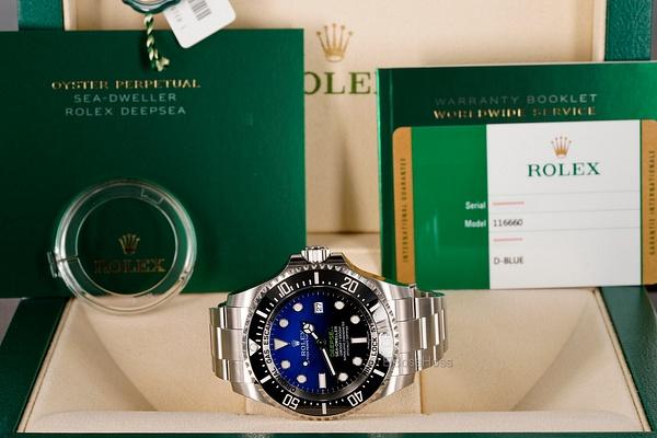 Rolex DEEPSEA D-Blue - 116660 (James Cameron) by...