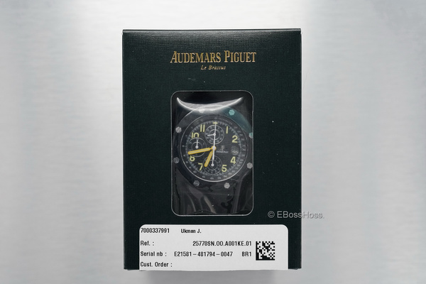 Audemars Piguet Mint End of Days Limited Edition ROO by...
