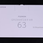 Fujifilm Fujinon GF 63mm F2-8 R WR