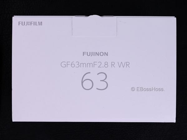 Fujifilm Fujinon GF 63mm F2-8 R WR by EBossHoss