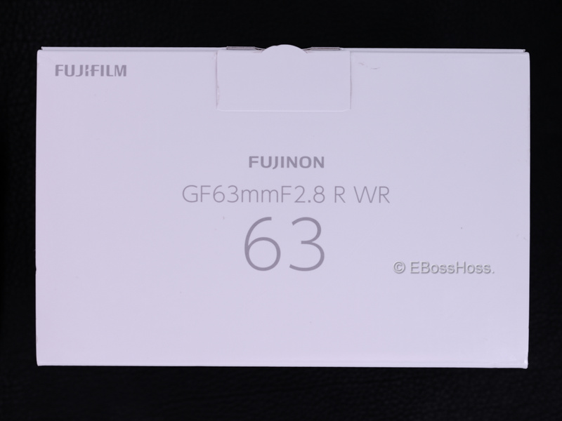 Fujifilm Fujinon GF 63mm F2-8 R WR - 010