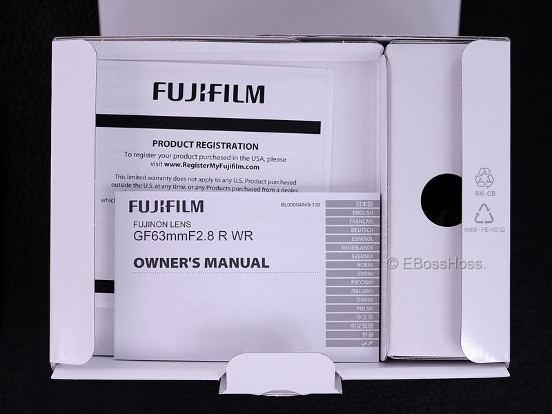Fujifilm Fujinon GF 63mm F2-8 R WR - 013